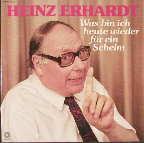 Herberts Oldiesammlung Secondhand LPs Heinz Erhardt - Was