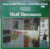 Cover: Wolf Biermann - Wolf Biermann / Eins in die Fresse, mein Herzblatt (DLP)