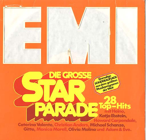 Albumcover Electrola-/Columbia- Sampler - Die grosse Star Parade (EMI) - 28 Top Hits