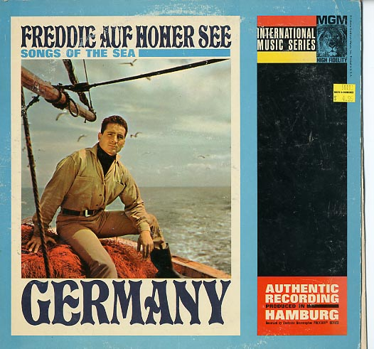 Albumcover Freddy (Quinn) - Freddy auf hoher See - Songs Of The Sea