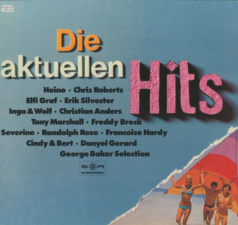 Albumcover S*R International - Die aktuellen Hits