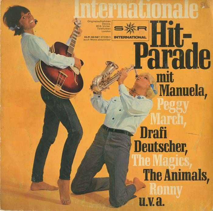 Albumcover S*R International - Internationale Hit-Parade (25 cm)