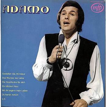 Albumcover Adamo - Adamo