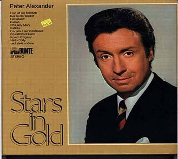 Albumcover Peter Alexander - Stars in Gold
