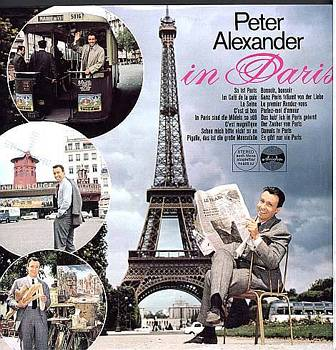 Albumcover Peter Alexander - In Paris