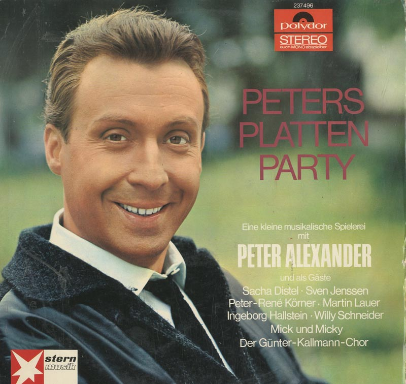 Albumcover Verschiedene Interpreten - Peters Platten Party