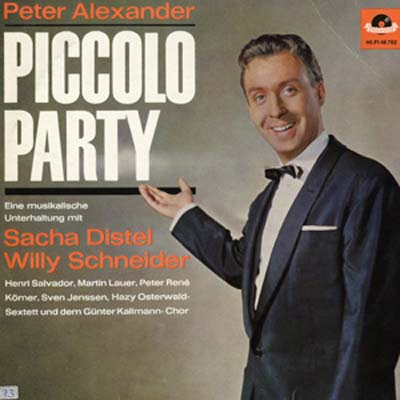Albumcover Peter Alexander - Piccolo Party