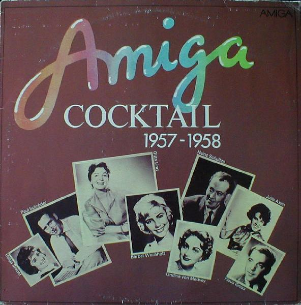 Albumcover Amiga Sampler - Amiga Cocktail 1957 - 1958