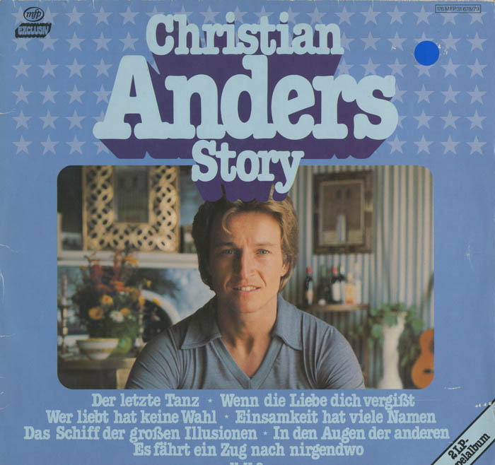 Albumcover Christian Anders - Christian Anders - Story DLP)
