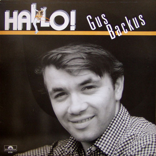 Albumcover Gus Backus - Hallo