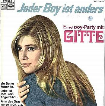 Albumcover Gitte - Jeder Boy ist anders