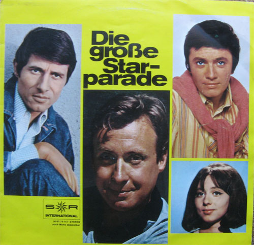 Albumcover S*R International - Die große Starparade (S*R Sampler)