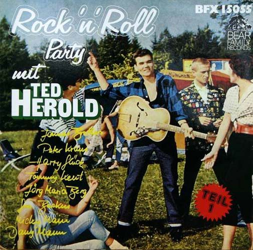 Albumcover Rock´n´Roll Party mit Ted Herold - Rock´n´Roll Party mit Ted Herold u. a.  Teil 1