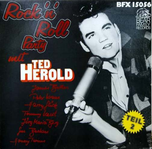 Albumcover Rock´n´Roll Party mit Ted Herold - Rock´n´Roll Party mit Ted Herold u. a.  Teil 2 (1957 - 1962)