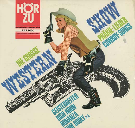Albumcover Various Country-Artists - Die grosse Western Show