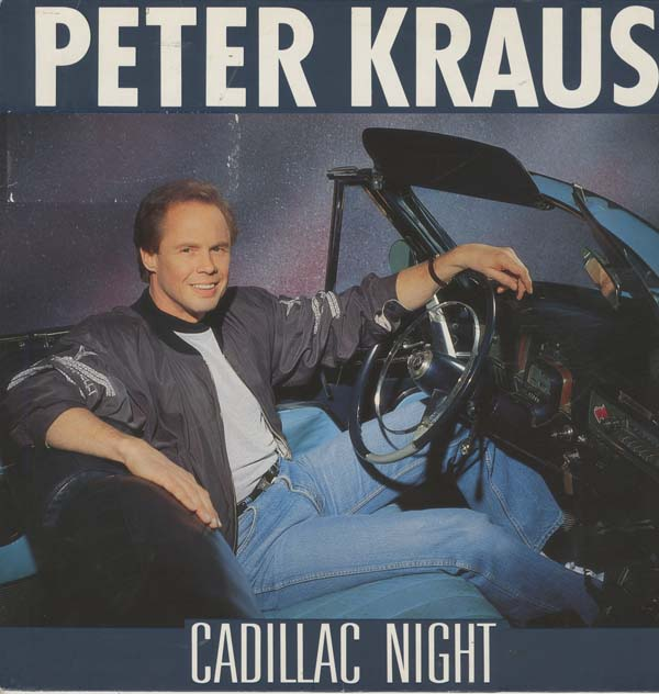 Albumcover Peter Kraus - Cadillac Night