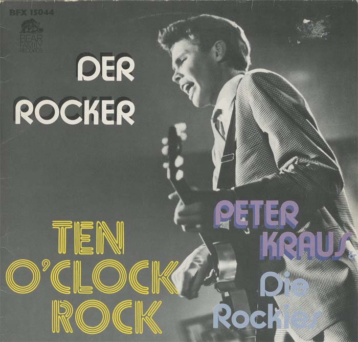 Albumcover Peter Kraus - Der Rocker - Ten o´clock Rock