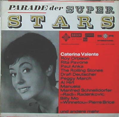 Albumcover S*R International - Parade der SuperStars