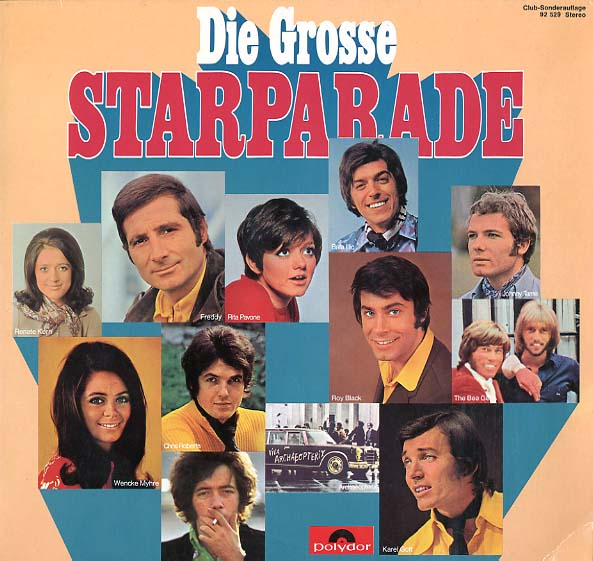 Albumcover Polydor Starparade / Star-Revue - Die grosse Starparade