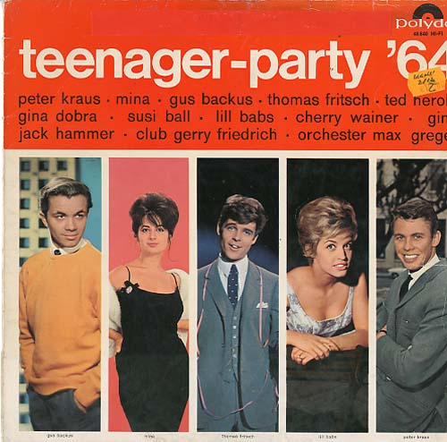 Albumcover Polydor Sampler - Teenager Party ´64