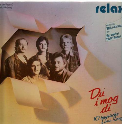 Albumcover Relax - Du i mog di - 10 bayrische Love Songs