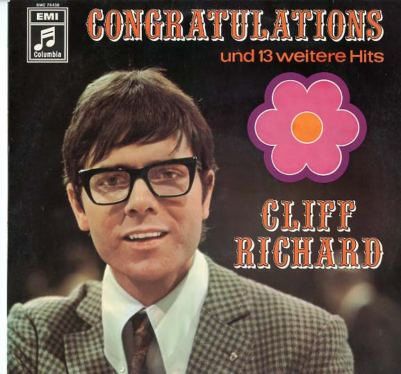 Albumcover Cliff Richard - Congratulations