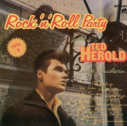 Albumcover Rock´n´Roll Party mit Ted Herold - Rock´n´Roll Party mit Ted Herold u. a.  Teil 3
