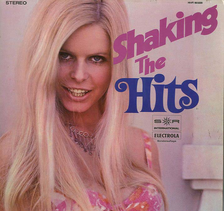 Albumcover S*R International - Shaking The Hits