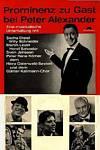 Cover: Peter Alexander - Peter Alexander / Prominenz zu Gast bei Peter Alexander