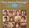 Cover: Das waren Schlager (Polydor) - Das waren Schlager (Polydor) / Das waren Schlager 1974