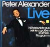 Cover: Peter Alexander - Live