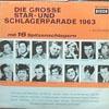 Cover: Decca Sampler - Decca Sampler / Die große Star- und Schlagerparade 1963, 1. Ausgabe mit 16 Spitzenschlagern