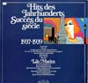Cover: ex libris Sampler - Hits des Jahrhunderts - Success du siecle 1937 - 1939