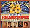 Cover: Verschiedene Interpreten - Verschiedene Interpreten / Die Goldenen 50er Jahre - 28 Beliebte Schlagertreffer