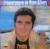 Cover: Freddy (Quinn) - Freddy (Quinn) / Erinnerungen an Hans Albers
