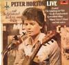 Cover: Peter Horton - Peter Horton / Live mit Schmunzelliedern aus Wien