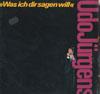 Cover: Udo Jürgens - Udo Jürgens / Was ich dir sagen will