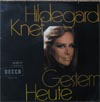 Cover: Hildegard Knef - Hildegard Knef / Gestern - Heute