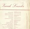 Cover: Zarah Leander - Zarah Leander / Zarah Leander I. Folge