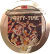 Cover: Polydor Sampler - Party Time (3 LP Blech-Kassette)