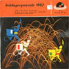 Cover: Polydor Schlager-Revue / Schlager Parade - Schlager-Parade 1957 (25 cm) NUR COVER