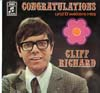 Cover: Cliff Richard - Cliff Richard / Congratulations