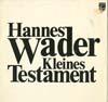 Cover: Hannes Wader - Hannes Wader / Kleines Testament