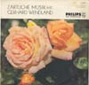 Cover: Gerhard Wendland - Gerhard Wendland / Zärtliche Musik mit Gerhard Wendland