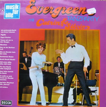 Albumcover Caterina Valente und Silvio Francesco - Evergreen Tanzparty