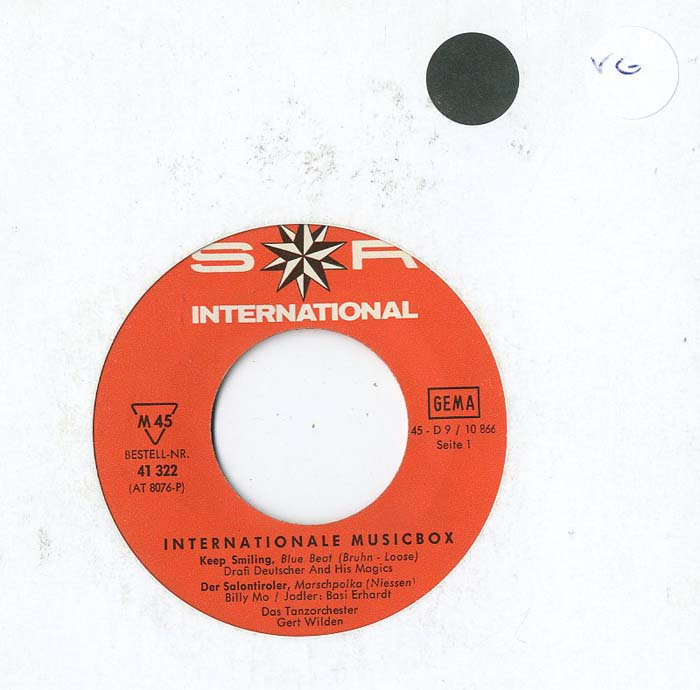 Albumcover S*R International - Internationale Musikbox (EP)