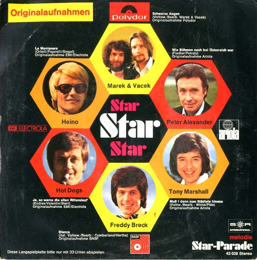Albumcover S*R International - Melodie Star Parade (33 1/3 Mini-LP)