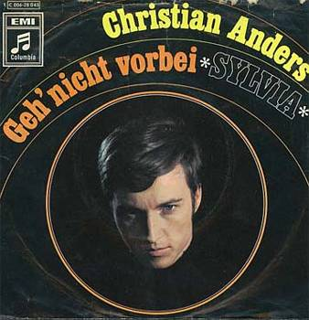 Albumcover Christian Anders - Geh nicht vorbei / Sylvia