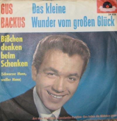 Gus Backus - Wooden Heart »Muß I Denn Zum Städtele Hinaus«