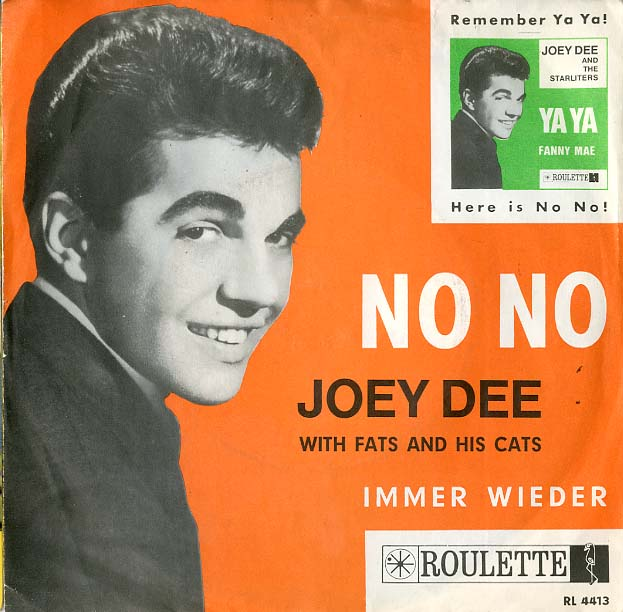 Albumcover Joey Dee and the Starlighters - No No / Immer wieder